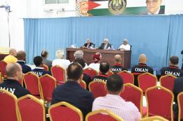 المنتخب العماني لكرة القدم بضيافة الرئيس عباس في رام الله