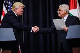 الرئيس لترامب : مستعدون للعمل سوياً من اجل صفقة سلام تاريخية