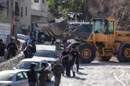الاحتلال يوزع اخطارات بالهدم لعدة منازل جنوب المسجد الأقصى