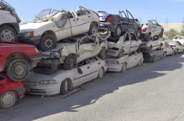 اتلاف نحو 200 سيارة ودراجة نارية غير قانونية في جنين