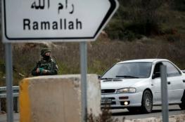 اطلاق نار صوب حافلة للمستوطنين وانسحاب المنفذ شمال رام الله