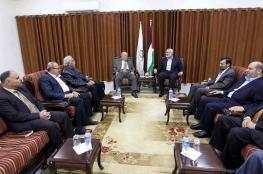 لقاء بين حماس وفتح في مكتب هنية