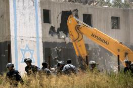 تأجيل  هدم تسعة منازل للمستوطنين في عوفرا