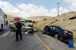 مصرع مواطن واصابة آخر بحادث سير مروع على طريق الكسارات بالقدس