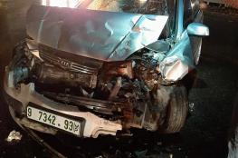 9 اصابات في حوادث سير في الضفة الغربية