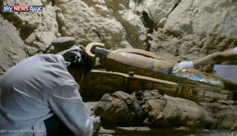 اكتشاف مقبرة فرعونية جنوبي مصر تعود لعصر الأسرة 18