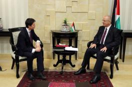 الحمد الله يبحث مع وزير التنمية البريطاني سبل تعزيز التعاون