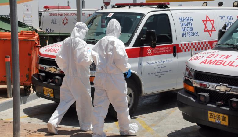 """""""إسرائيل"""" تواصل تسجيل أرقام قياسية  لمصابي فيروس كورونا"""