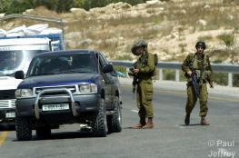 الاحتلال يغلق طريق تؤدي الى 8 قرى غرب رام الله