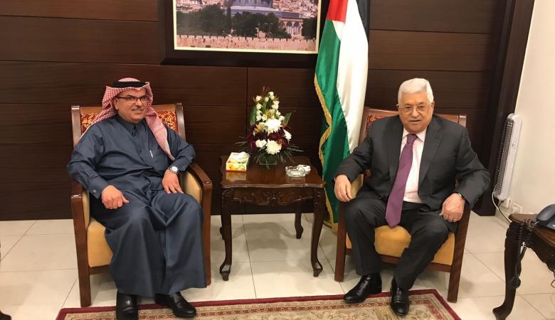الرئيس يستقبل السفير القطري