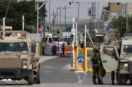 جيش الاحتلال يزعم وقوع محاولة دهس على حاجز نعلين غرب رام الله