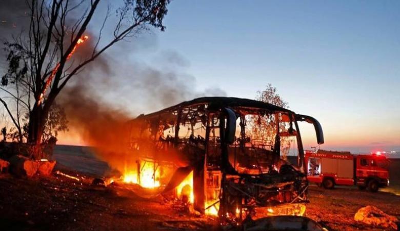 """""""القسام"""" ينشر تفاصيل استهداف الباص خلال """"حد السيف"""" الليلة"""