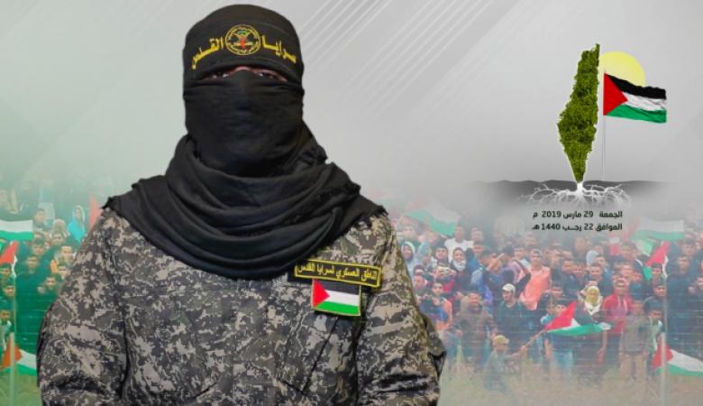 """ابو حمزة لاسرائيل :"""" القصف بالقصف والدم بالدم """""""