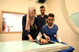 الجامعة  الامريكية توفر جهاز TLD لقياس الجرعة الاشعاعية أثناء التدريب العملي