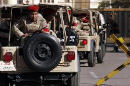 مقتل 3 جنود مصريين في هجوم استهدفهم شمال سيناء