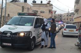 فرض الحجر الالزامي على المواطنين في بلدة حزما
