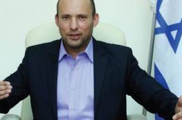 بينيت: الفلسطينيون دولتهم الأردن ولا حاجة لدولة جديدة