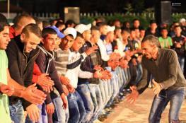 منع حفلات الاعراس في الشوارع والاماكن العامة في غزة بسبب التوجيهي