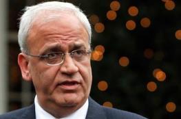 عريقات: مردخاي بات الرئيس الفعلي للشعب الفلسطيني