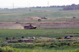 توغل لآليات الاحتلال شرق دير البلح واستهداف منازل شرق غزة