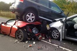 8 إصابات بعدة حوادث سير بمدينة جنين