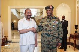 رئيس الوزراء الإثيوبي يصل السودان للقاء وزير الخارجية الامريكي