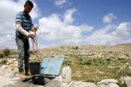 """""""82"""" لترا في اليوم معدل استهلاك الفرد  الفلسطيني من المياه"""