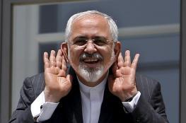 """ظريف :  """"لا يمكن لأي قوة في العالم أن تفصل بين الشعبين الإيراني والعراقي"""""""