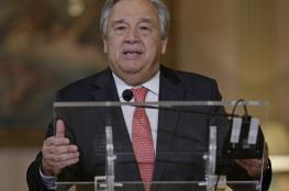 الأمين العام الجديد للأمم المتحدة: الحرب السورية سرطان