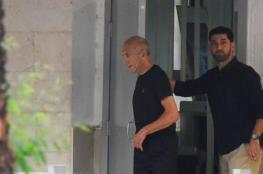 ايهود اولمرت يلغي زيارته إلى سويسرا خشية اعتقاله