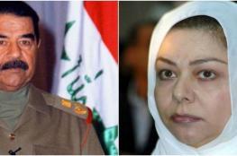 """رغد صدام حسين تنعى """" علي عبد الله صالح """" وتصفه بالشهيد البطل"""
