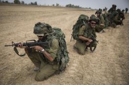"""جيش الاحتلال يكثف تدريباته بالذخيرة الحية """"بشكل غير مسبوق """""""