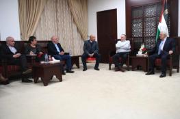 الرئيس : القيادة الفلسطينية تسعى الى تحقيق سلام عادل