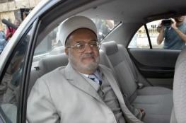 الاردن : نقوم بجهود دبلوماسية لفك الحظر الاسرائيلي عن الشيخ عكرمة صبري