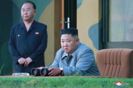 الزعيم الكوري يشرف شخصياً على تجارب صاروخية عملاقة