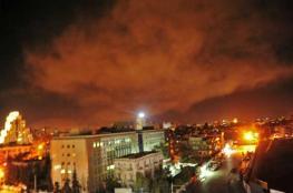 9 شهداء في قصف إسرائيلي على مواقع عسكرية بسوريا