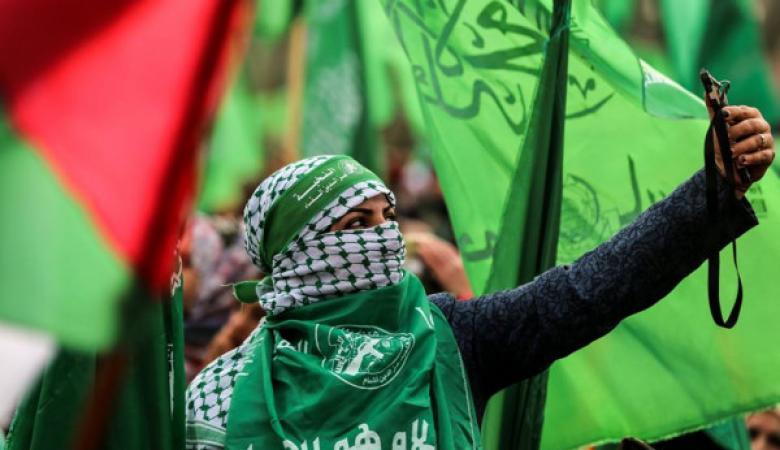حماس تحيي انطلاقتها الـ32 بمسيرات مركزية فيغزة