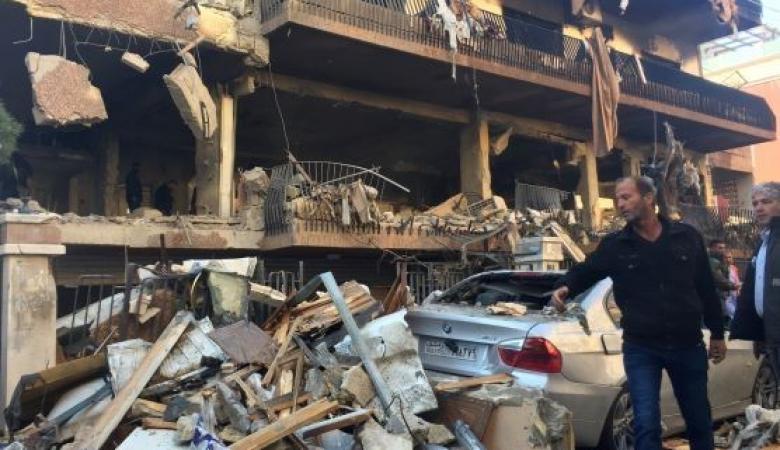 دمشق تتكفل بترميم المنازل المتضررة من القصف الإسرائيلي