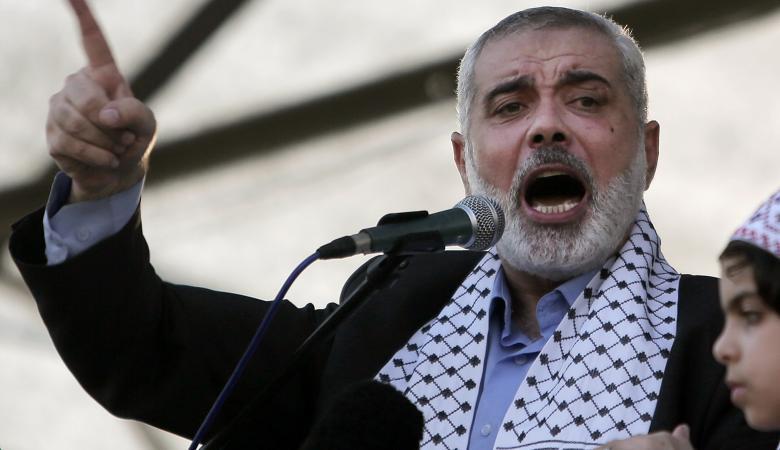 هنية: سنعمل على إطلاق انتفاضة شعبية ضد الاحتلال الاسرائيلي