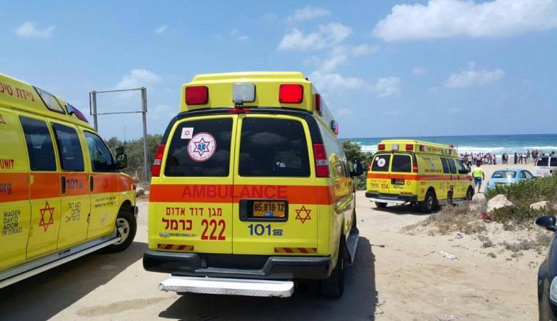 إصابة متوسطة لعامل في البحر الميت