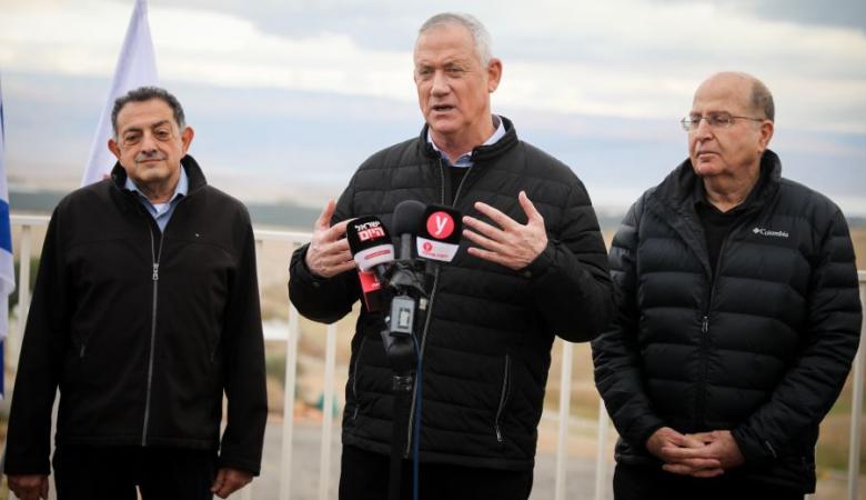 """""""أبيض أزرق"""": لا يمكننا منع إجراءات ضم الضفة الغربية"""