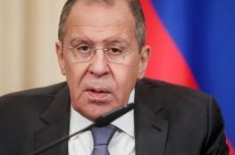 لافروف: روسيا ومصر تنسقان جهود التسوية في ليبيا