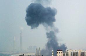 مشاهد من القصف الاسرائيلي على قطاع غزة