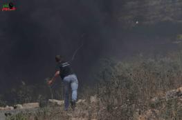 اصابة شاب في قمع الاحتلال لمسيرة كفرقدوم