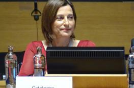 اسبانيا تطلق سراح رئيسة برلمان كتالونيا