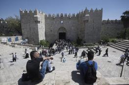 """باب العمود.. أسطورة القدس تتحول لمنطقة عسكرية""""صور """""""