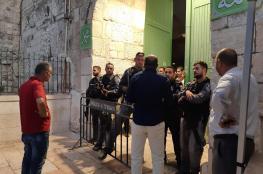 """وزارة الاوقاف : """"اجراءات اسرائيل في الأقصى ستجر المنطقة الى حرب دينية """""""