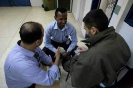 الصليب الأحمر يزور الأسرى المضربين في نفحة لأول مرة