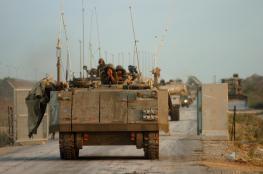 اسرائيل تحشد أكبر قوة عسكرية على حدود غزة منذ حرب 2014