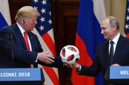 هل وضع بوتين سماعة مايكرفون في الكرة التي اهداها لترامب ؟
